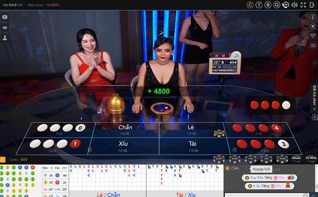 Xóc đĩa Thiên Hạ bet mang tới cho người chơi một giao diện mới mẻ
