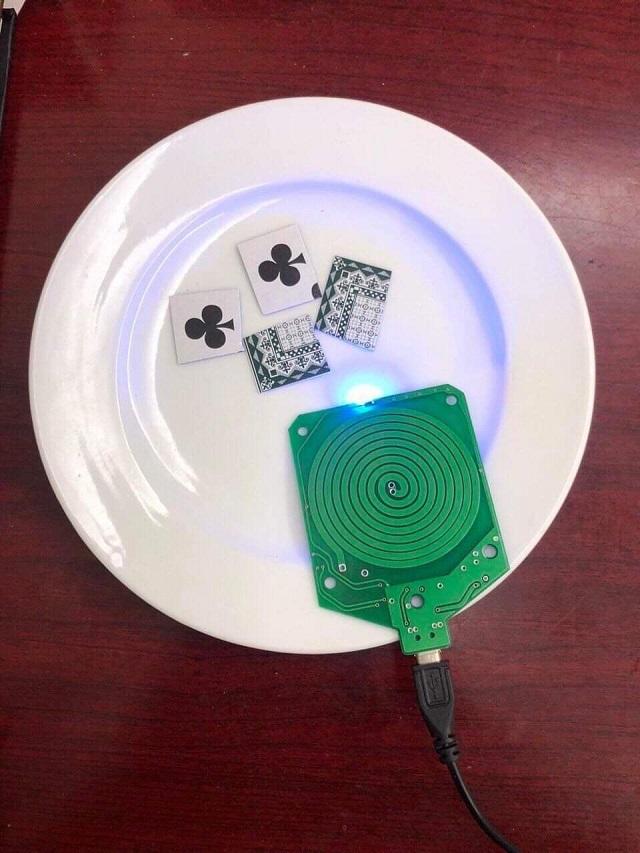Hình ảnh xóc đĩa - Đĩa tàng hình wifi công nghệ cao