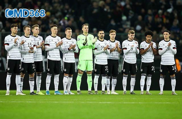 Đức là đội bóng giàu thành tích nhất tại Euro
