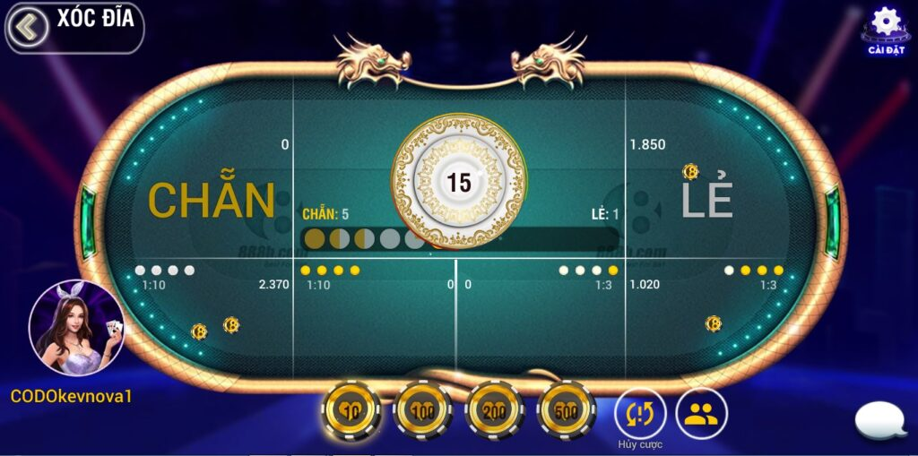 Cách chơi xóc đĩa online 888-b như thế nào?