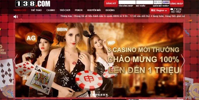 Review nhà cái 138Bet-Casino trực tuyến