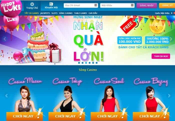 HappyLuke là một trong những nhà cái casino uy tín hàng đầu Châu Á