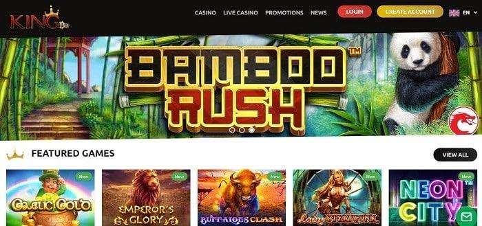 Kingbit Casino được biết đến là sòng bạc trực tuyến sử dụng đồng tiền ảo bitcoin