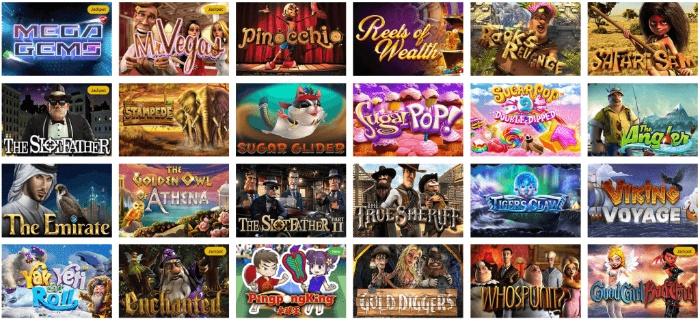 Kingbit Casino có thế mạnh là những trò chơi tại các sòng bạc nổi tiếng