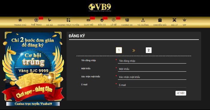 VuaBài9-VB9-Chọn Kèo Casino Trực Tuyến