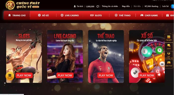 Nhà cái Chúng Phát Quốc Tế-Casino Trực Tuyến