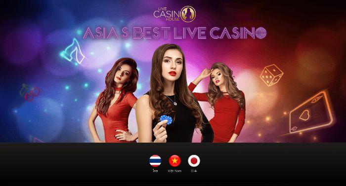 Nhà cái Live Casino House thuộc tập đoàn Income88