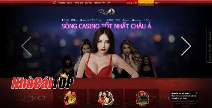 Live House Casino tập trung phát triển mạnh vào mảng casino trực tuyến