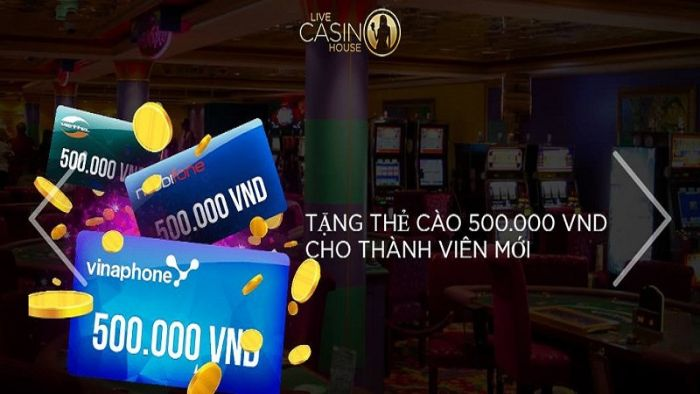 Các chương trình khuyến mãi của Live Casino House vô cùng hấp dẫn