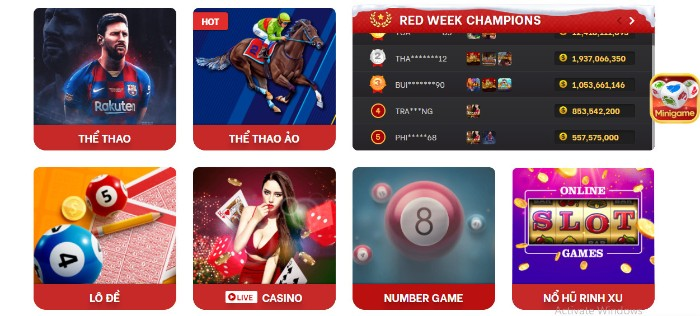 Nhà cái Red88-Casino Online