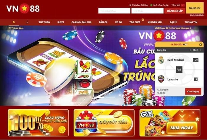 VN88 còn có cả một hệ thống trò chơi hấp dẫn người chơi