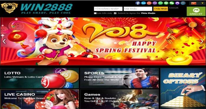 Win2888-Casino trực tuyến